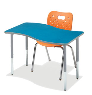 Ogee Breeze - Single Student Desk