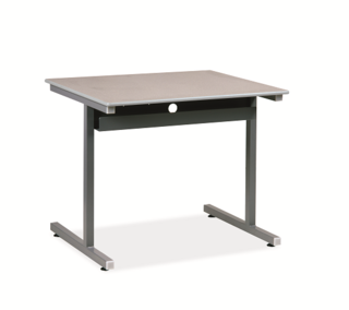 Honor Roll T-Leg Computer Table