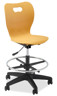 Smooth Lab Height Gas Lift Chair
