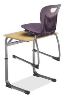 Integrity Ribbed-Back Cantilever Chair