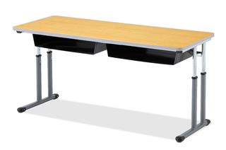 Integrity Double Leg T-Leg Desk