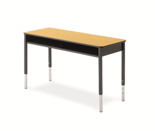 Honor Roll 4-Leg Double Desk