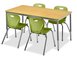 Honor Roll Rectangular Activity Tables with Full Frame Design