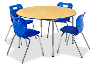 Honor Roll Round Activity Tables with Full Frame Design
