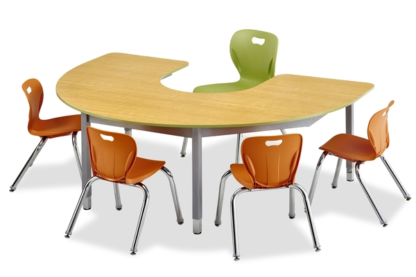 Honor Roll C Shape Table