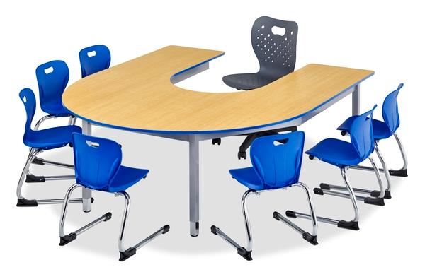 Alumni Classroom Furniture Inc - Horseshoe conference table