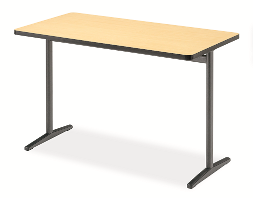 Genial Integrity Single Leg Rectangular Activity Table