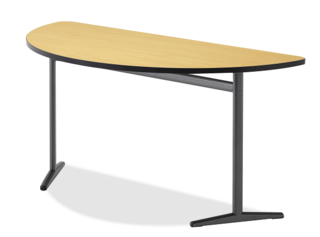 Integrity Single Leg Half Round Activity Table