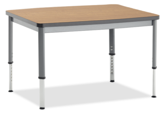 Integrity Oval Leg Rectangular Activity Tables