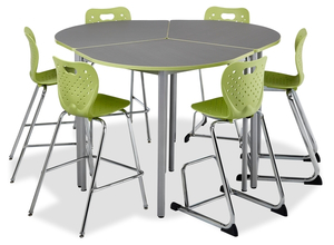 Café Height Tables And Stools